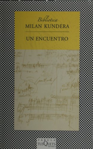 9786074210675: Un encuentro (Spanish Edition)