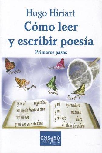 9786074210866: Como Leer y Escribir Poesia: Primeros Pasos (Spanish Edition)
