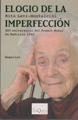 9786074212730: Elogio de la imperfeccion (Spanish Edition)