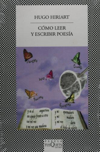 9786074214406: Como leer y escribir poesia (Spanish Edition)