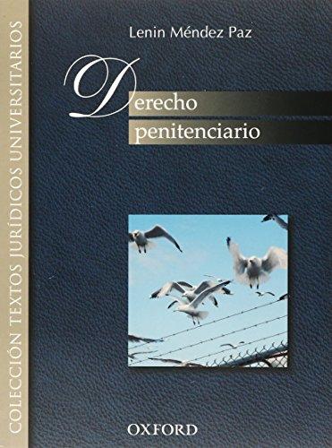 9786074260007: DERECHO PENITENCIARIO