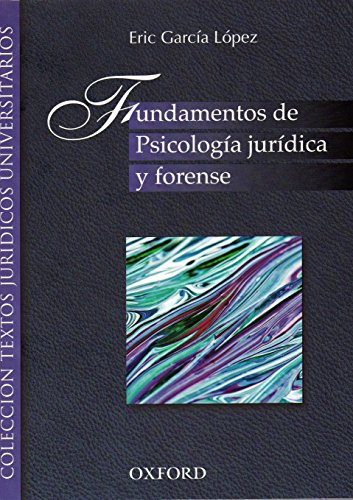 9786074260960: fundamentos de psicologia juridica y forens