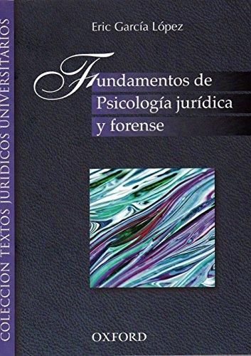 9786074260960: FUNDAMENTOS DE PSICOLOGIA JURIDICA Y FORENSE