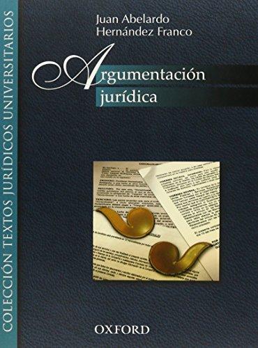 9786074261059: ARGUMENTACION JURIDICA