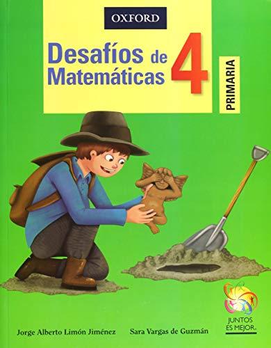 9786074263817: Desafios De Matematicas 4. Primaria