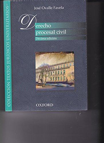 DERECHO PROCESAL CIVIL: OVALLE FAVELA, JOSE