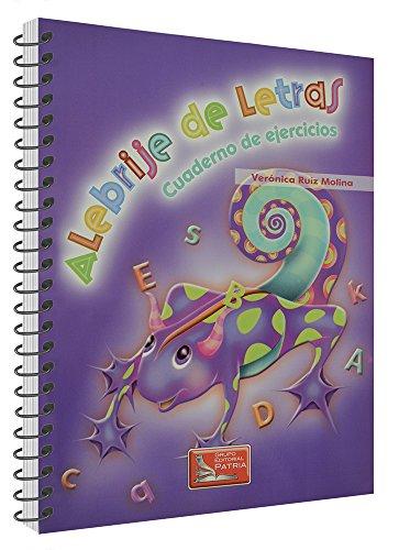 9786074384475: ALEBRIJE DE LETRAS (LIBRO Y CUADERNO)