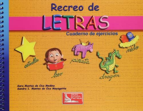 9786074384680: RECREO DE LETRAS CUAD.EJER.3ED