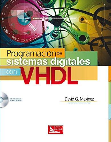 9786074386219: Programacion De Sistemas Digitales Con Vhdl (Incluye Cd