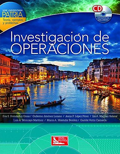9786074386967: INVESTIGACION DE OPERACIONES (INCLUYE CD)