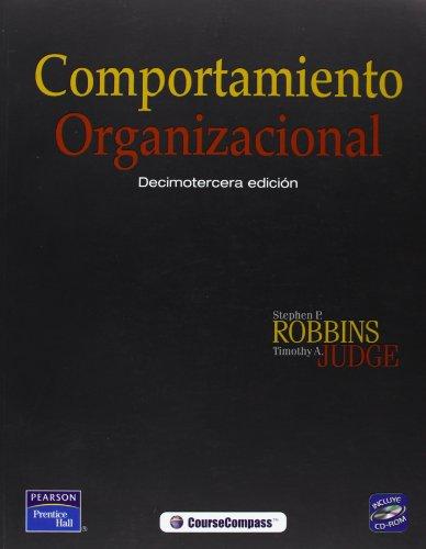 9786074420982: COMPORTAMIENTO ORGANIZACIONAL - CON CD (Spanish Edition)