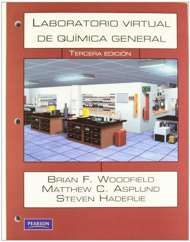 9786074422108: LABORATORIO VIRTUAL DE QUIMICA GENERAL - CON CD (Spanish Edition)