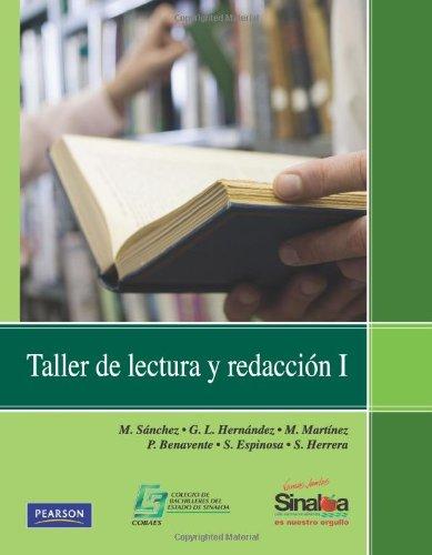 9786074423860: Taller de Lectura y Redaccion I (High school) (Spanish Edition)