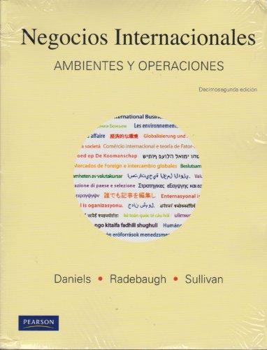 9786074423877: Negocios Internacionales (12th Edition) (Spanish Edition)
