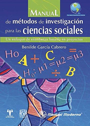 MANUAL METODOS D INVEST. CIENCIAS SOCIALES +: GARCIA CABRERO 09