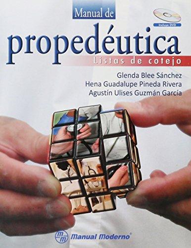 9786074481020: manual de propedeutica. listas de cotej