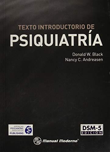9786074485318: Texto introductorio de Psiquiatria - DSM-5 edicion
