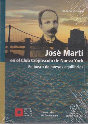 José Martí En el Club Crepúsculo de