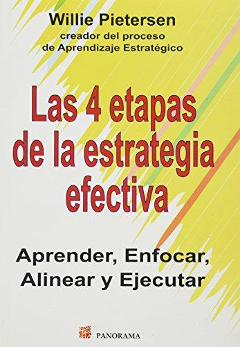 9786074522327: 4 etapas de la estrategia efectiva / 4 stages of effective strategy