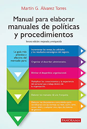9786074524994: MANUAL PARA ELABORAR MANUALES DE POLITICAS Y PROCEDIMIENTOS / 3 ED.