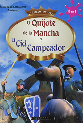 9786074531121: El Quijote de la Mancha y El Cid Campeador / Don Quixote de la Mancha and The Cid