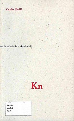KN . CARLO BELLI: BELLI, CARLO