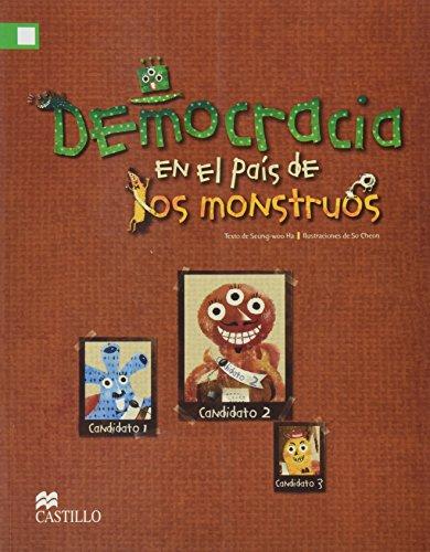 9786074638899: Democra en el país de los monstruos 2E MA