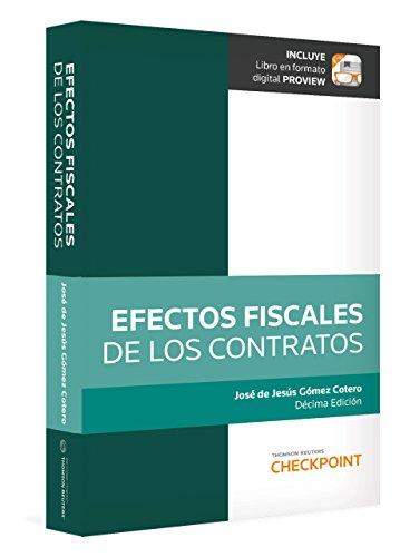 9786074741933: Efectos Fiscales De Los Contratos / 9 Ed