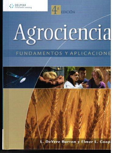 9786074811162: Agrociencia: Fundamentos y Aplicaciones