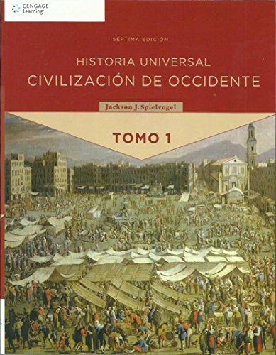 9786074811384: 1: Historia Universal. Civilizacion De Occidente Tomo I