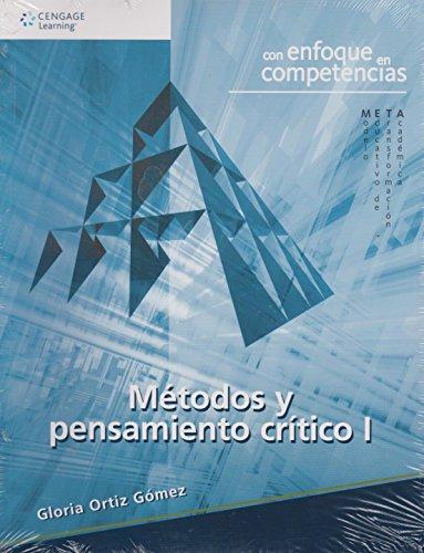 9786074811476: metodos y pensamiento critico gloria orti