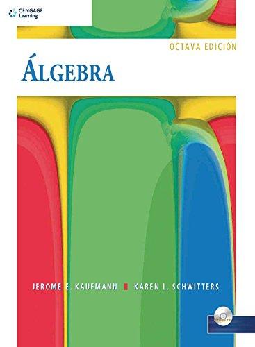 9786074811490: Algebra/ Algebra for College Students (Spanish Edition)