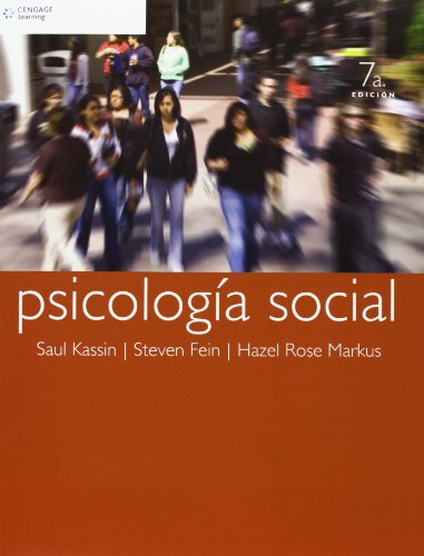 Psicologia Social (Spanish Edition) by Kassin, Saul