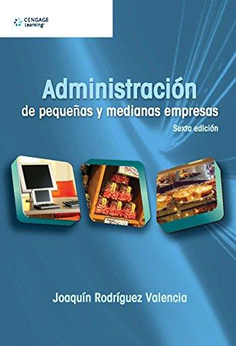 9786074813395: administracion de pequenas y medianas empresa