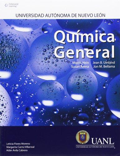9786074813548: Química General + Manual De Prácticas De Laboratorio (Uanl)