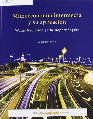 9786074814699: MICROECONOMIA INTERMEDIA Y SU APLICACION 11'EDICION