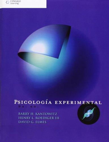 9786074814958: Psicologia Experimental
