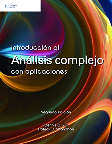 9786074815962: Analisis Complejo Con Aplicaciones (Spanish Edition)