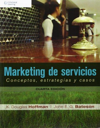 9786074816334: Marketing De Servicios. Conceptos, Estrategias Y Casos - 4ª edición