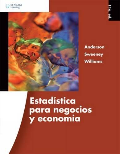 9786074816419: Estadistica para Negocios y Economia