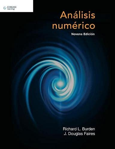 9786074816631: Analisis Numerico (Spanish Edition)