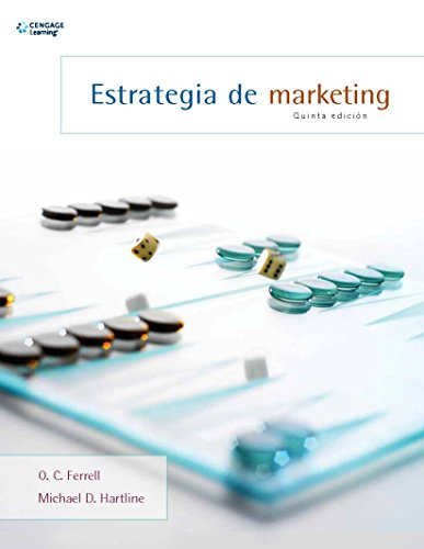 Estrategia De Marketing (Spanish Edition): Ferrell, O. C.;