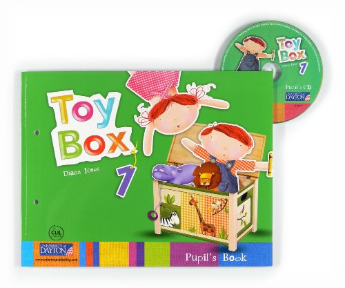 9786074930931: Toy Box Uk Pupil Book 1 (3 Años )