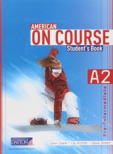 9786074932102: American On Course A2 Student's Book c/cd