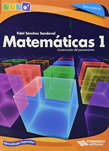 9786074983302: Matematicas 1. Construccion Del Pensamiento Secundaria
