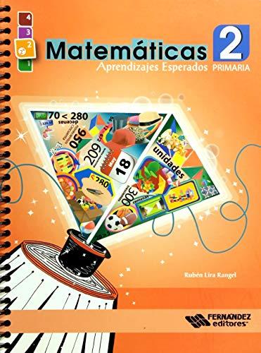 9786074983739: MATEMATICAS 2 APRENDIZAJES ESPERADOS. PRIMARIA (INCLUYE CD)