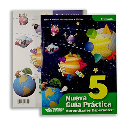 9786074984118: Nueva Guia Practica 5 Aprendizajes Esperados. Primari