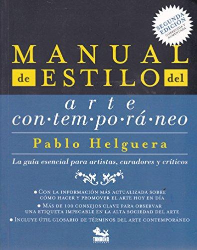 9786075163321: Manual de estilo del arte contemporaneo. (Spanish Edition)