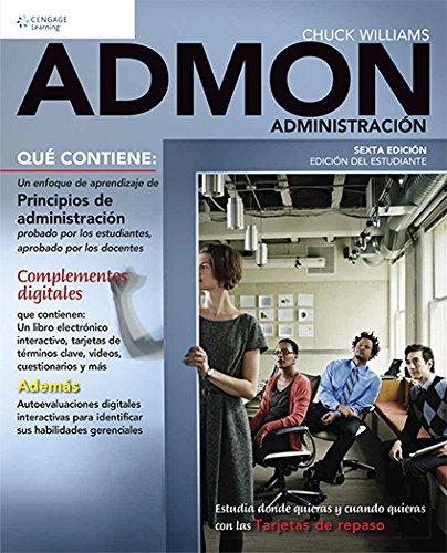 9786075190167: ADMON ADMINISTRACION