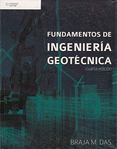 9786075193724: Fundamentos De Ingeniería Geotécnica - 4 Edition